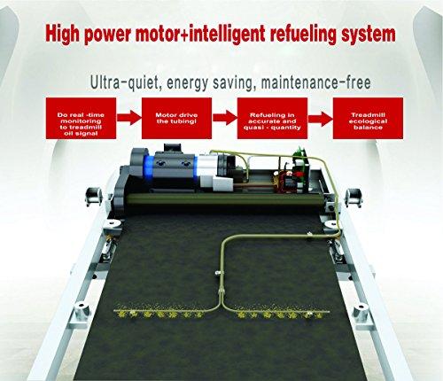 Powermax Fitness TDM-125S Motorized Multifunction Treadmill with Auto Lubrication- OCT '17 Model