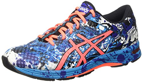 asics-gel-noosa-tri-11-mens-competition-running-shoes-blue-island-blue-flash-coral-black-4006-85-uk-