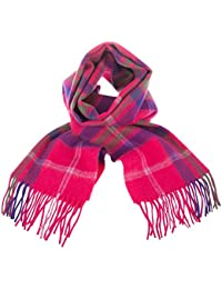 Edinburgh 100% Lambswool Wide Scottish Tartan Scarf