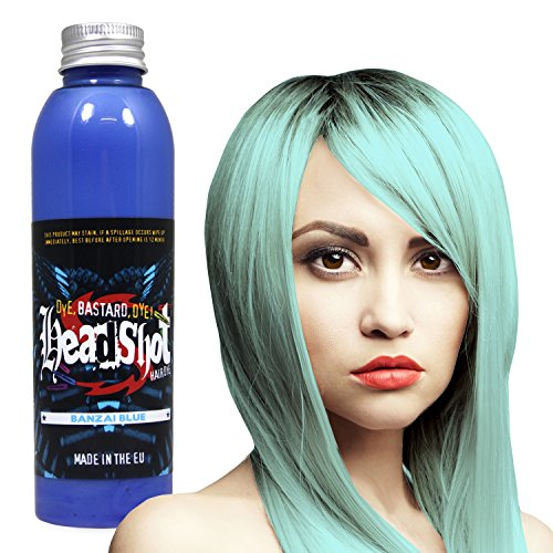 be Headshot Banzai Blue, Semi-permanente Haartönung 150 ml ()