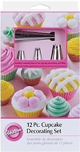 Wilton 2104-6667 12-Piece Cupcake Decorating Set, Garden, Haus, Garten, Rasen, Wartung