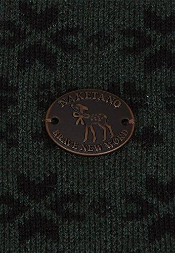Naketano - Pull - Uni - Femme Best Green Melange