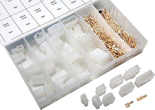 Flachstecker Gehäuse Set 240 tlg. mit Flachstecker - Gehäuse-set