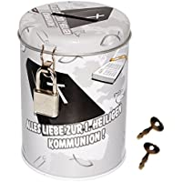 Preisvergleich für alles-meine.de GmbH Spardose / Schatzdose - Alles Liebe zur 1. Heiligen Kommunion ! - mit SCHL..
