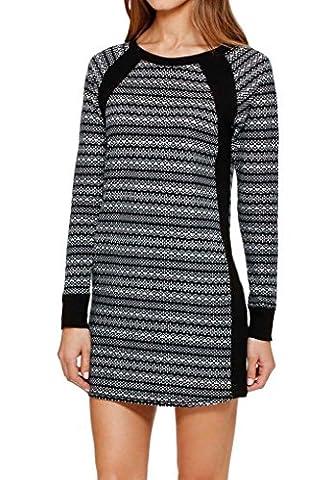 DKNY Damen Schlafanzug Gr. M, Black Abstract (Dkny Lingerie)