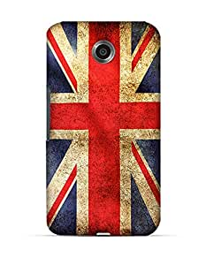 UK flag grunge Google Nexus 6 case