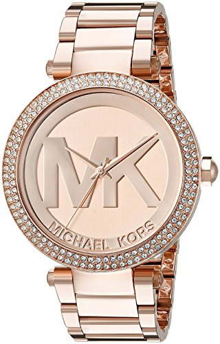 MK Damen-Uhren Damen-Armbanduhr Rose MK5865