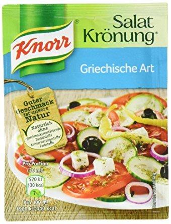 Knorr Salat Krönung Griechische Art 78 Beutel a 9g