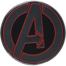 AVENGERS CLASSIC LOGO ROUND, Officially Licensed Original Artwork - Heavy Duty Metal Sticker DECAL ETICHETTA