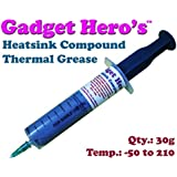Gadget Hero's 30G Thermal Grease Paste Heat Sink Compound For CPU & Chipsets (Grey)