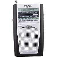 IPOTCH 1 Pieza de Radio Bolsillo Receptor Electronico Antena Altavoz Incorporado