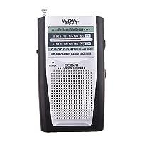 Dolity BC-R20 Portable Pocket Mini AM / FM Radio with Speaker and Belt Clip