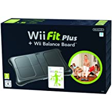 Wii Fit Plus + Balance Board Negra