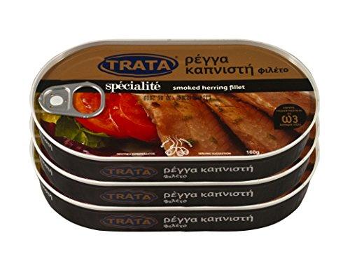 Trata greca affumicata filetti di aringhe Peso netto 480g