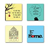 About TheYaYaCafe Table Coasters Set - Celebrate this diwali with your loved ones with our large collection of table Coasters in colorful designs. This can be an ideal birthday gift or festive season gifts. Send this as a gift for parents & frien...