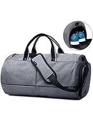 Valleycomfy Sac de sport Gym Sacs Chaussures de grande capacité avec poche à la main/épaule/sac en bandoulière Fitness bagages Sacs