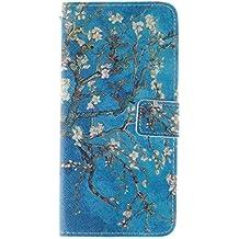 Coffeetreehouse - Bolso pequeño al hombro para mujer Apricot tree iPhone 6 /6S