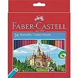 Faber Castell - 111224 - Crayon de Couleur - Castle - 24 Parties