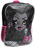 Monster High, Schulrucksack schwarz schwarz Einheitsgröße