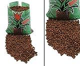Blähton, Kugeln braun, 10 Liter Hydroton Füllmaterial für Übertöpfe Pflanzgefässe Pflanztopf