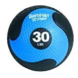 Deluxe Medicine Ball in Black and Blue (Deluxe)
