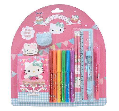 Trendhaus 408541 - Hello Kitty Tea Party Schreibset Maxi (Tea Hello Party Kitty)