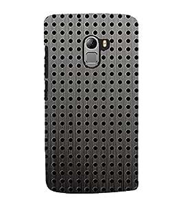 Fuson Designer Back Case Cover for Lenovo Vibe K4 Note :: Lenovo K4 Note A7010a48 :: Lenovo Vibe K4 Note A7010 (Circles SPheres Ovals black Grey)