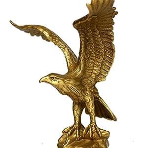 China Bronze Messing Statue Eagle/Hawk Figur Figur