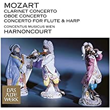 Mozart : Clarinet Concerto, Oboe Concerto & Concerto for Flute and Harp (DAW 50)