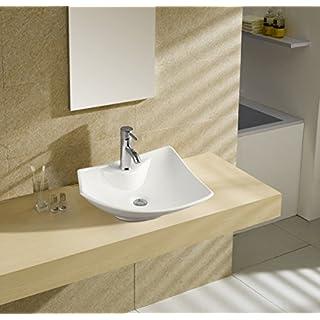 Art-of-Baan® - Design Waschbecken Aufsatzwaschbecken Waschschale 485 * 385 * 140 mm (5200Neu)