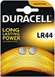 Duracell Specialty Type LR44 Alkaline Coin Battery, Pack of 8