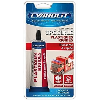 Cyanolit 33300020 Blister de Colle Spéciale Plastiques Rigide 50 ml