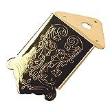 Non-brand Goldene/Silber Mandoline Saitenhalter Brücke Schraube Für 3-6 Saiten Zigarrenbox Gitarre Teile - Golden