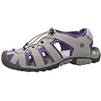 Mountain Warehouse Trek Womens Shandal -Neoprene Lining Shoes Sandals, Durable Outsole Ladies Beach Shoes, EVA Midsole…