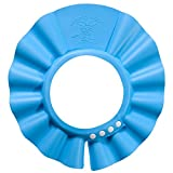 #10: CONNECTWIDE® Baby Shampoo Shower Cap Fit for babies from 0 to 2 years old (Blue)