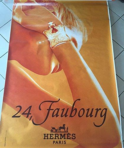 AFFICHE - Hermès - 24, faubourg  Abribus - 120x175 cm - AFFICHE / POSTER