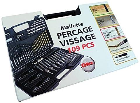 Smartool Koffer Unisex/Bohrersatz, 109-teilig