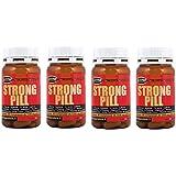 4 boîte de 60 comprimés - 78 grammes Strong Pill (pour un total de 240 comprimés - 312 grammes), fort stimulant...