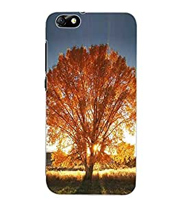 ColourCraft Beautiful Tree Design Back Case Cover for HUAWEI HONOR 4X