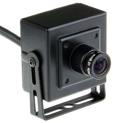 ELP HD 720P 1.0megapixel MJPEG oder YUY2 OV9712 Sensor USB2.0 weiter Winkel Webcam USB-Kamera für Linux, Android, Windows, Mac (2.8mm Objektiv) (Webcam Outdoor Usb)