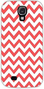 Snoogg Wave Print Case Cover For Samsung Galaxy S4