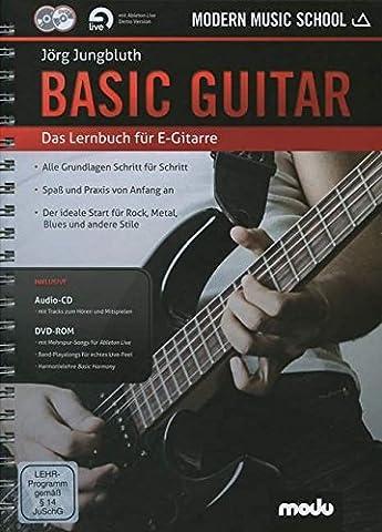 Basic Guitar: Das neue Lernbuch für E-Gitarre. Gitarre. Lehrbuch mt