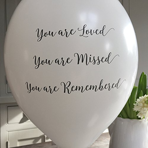 10-funeral-remembrance-balloons-for-release-you-are-loved-missed-remembered-by-angel-dove