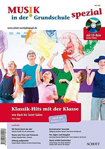 Klassik-Hits mit der Klasse: von Bach bis Saint-Saëns. Zeitschriften-Sonderheft + CD-ROM - 9783795712013