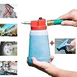 Full Crystal Window Cleaner Fensterputzer, Housables Spray Bottle Cleaner, Fensterputzer, Kunststoff, 946ml. Professioneller Sprayer