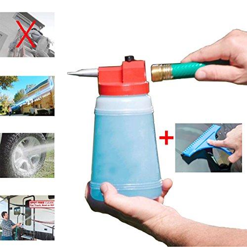 Sprayers Foam Lance 946ml Bottle Snow Foam Nozzle Injector Soap Foamer for Pressure Window Car Washer
