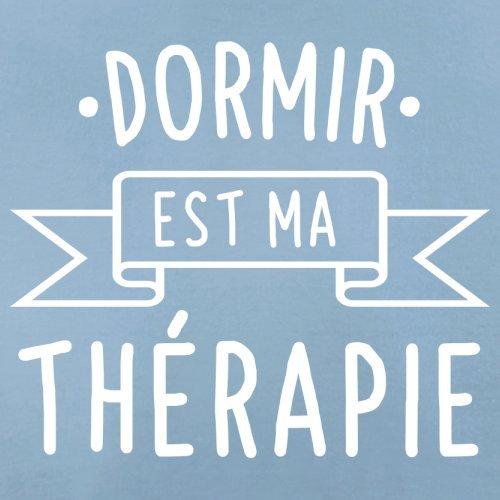 Dormir est ma thérapie - Femme T-Shirt - 14 couleur Bleu Ciel