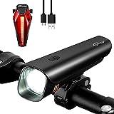 Fahrradlicht StVZO Zugelassen Fahrradbeleuchtung Set...