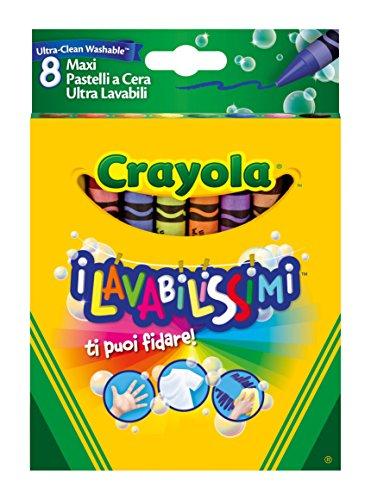 Preisvergleich Produktbild Crayola Ultra Clean Kreiden (8-teilig, groß)