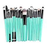 Best Malloom Eyeliners - Malloom 20 Pcs Pinceau De Maquillage Outils De Review
